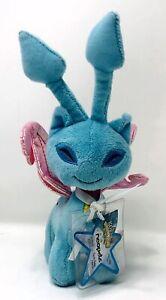 "Neopets Key Quest Faerie Aisha Series 3 Blue Plush 9"" 2008 Jakks New"