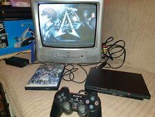Slim PlayStation 2 PS2 Slim Black Region Free