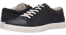 $98 size 11 CK Calvin Klein Igor Lace Up Black Leather Sneakers Mens Shoes NEW