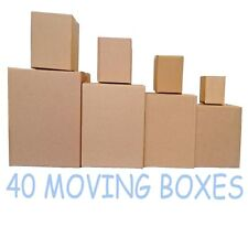 Cardboard boxes MOVING KIT (40 BOXES) with FREE DELIVERY