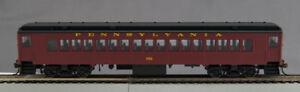 HO P-54 Pennsy RR Roman (Tuscan w/bk roof) Coach #51 (1-094077)
