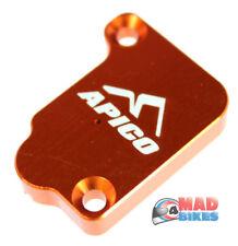 KTM SX50 Apico Front Brake Master Cylinder Cover, Anodised Orange 2002 to 2018