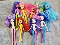 MY LITTLE PONY EQUESTRIA GIRLS  DOLLS LOT OF 9 FOR OOAK FREE SHIPPING USA 🇺🇸