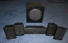 Sony Surround Sound Front, Rear + Subwoofer and Center Chanel Speakers