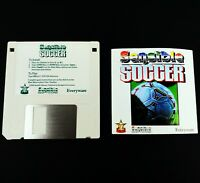 Sensible Soccer IBM PC Game with Manual 3.5 inch Floppy Disk 1994