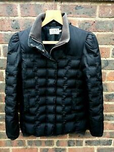 JUICY COUTURE LADIES BLACK PADDED FEATHER AND DOWN COAT SIZE 14
