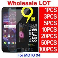 9H Tempered Glass Screen Protector Film Guard For Motorola Moto X4 Lot