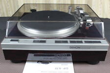 Denon DP-47F Turntable with DL-80 MC Cartridge work properly From JAPAN
