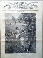L'illustrazione Popolare 14 Giugno 1885 Terenzio Mamiani Hugo Olevano Civitella