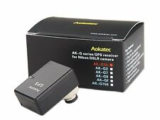Aokatec AK-G1s GPS Receiver for Nikon D810 D800 D800E D700 D300 D300S D4 D3 D3X