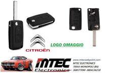 K09 Cover Guscio Chiave CITROEN C2 C3 C4 C5 C6 C8 Telecomando 2 tasti V2