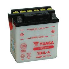 Batterie Moto Yuasa YB3L-A 12v 3Ah 30A 98x56x110mm acide offert