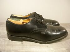New listing Vtg Red Wing Black Leather Non Steel Toe Delivery Mail Man Oxfords Men Shoes 8.5