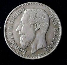 1 Franc Léopold II légende flamande 1887