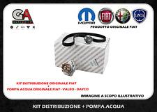 KIT CINGHIA DISTRIBUZIONE ORIGINALE + POMPA ACQUA FIAT 500 PANDA PUNTO 1.2 1.4