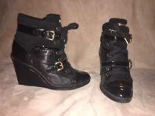 Michael Kors Skid Wedge Sneaker Boot Sz 8.5