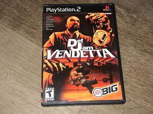 Def Jam Vendetta PlayStation 2 PS2 Complete CIB Authentic