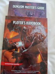 2 Dungeons & Dragons Books Dungeon Masters Guide, Players Handbook