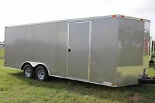 8.5x20 8.5 x 20 Enclosed Trailer Cargo 5200 lb V-Nose Car Hauler 8 22 2018