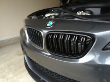 Gloss Black Kidney Grill Grille M sport 2012-2017 For BMW F22 F23 2  UK SELLER