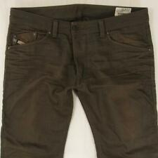Mens Diesel DARRON 008QU Tapered Brown Jeans W36 L34