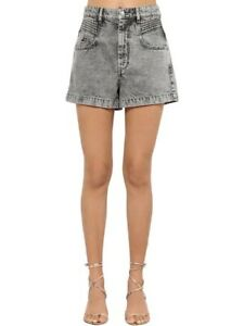 Isabel Marant HIANA Shorts high waist  size 42 uk 14waist 30''