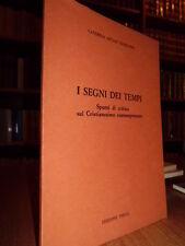 I Segni dei tempi - Caterina Artale Sanfilippo 1978