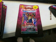 Yu-Gi-Oh Magician's Force Booster Packs! BLISTER PACK OF 3! Dark Magician Girl?