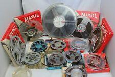 Vintage 8mm Film Reel Photography Camera Bundle Maxell 1960s 64 65 Job Lot Spool