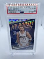 Luka Doncic Optic My House Holo PSA 10 SP #1 Prizm Mavericks