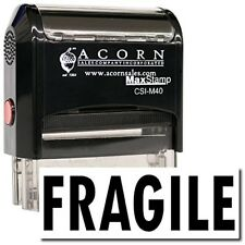 MaxStamp - Large Self-Inking Fragile Stamp (Red Ink)