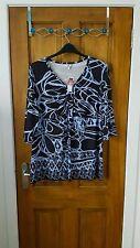M&Co V Neck 3/4 Sleeve Singlepack Tops & Shirts for Women
