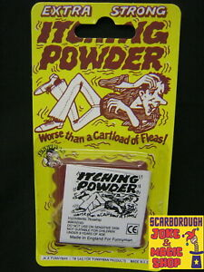 Itching Powder ~ Make Them Itch Like Crazy! ~ Classic Retro Joke Novelty Gag