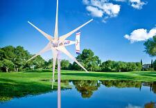 1800 W WindZilla PMA 12 V AC 6 Blade Wind Turbine Generator+180A Slip Ring + Hub