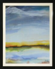 Framed Abstract Art Landscape Decorative