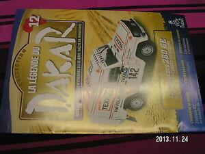 Fascicule Legende Paris Dakar n°12 Tambay Korogho Dirkou-Agadez Tenere 1983