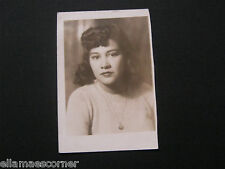 Vintage Picture of a Young Woman from Between 1930-1950