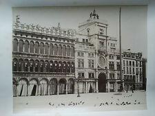 Photo 19 ème - Italie - Italy - Venise Venice - Tour de l ' horloge - P Salviati