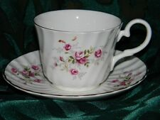 Blue Waters of England STAFFORDSHIRE Fine Bone China cup + saucer LOVELY gift!!!