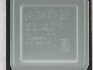 Amd-k6-2 / 533afx AMD K6-2 533 MHZ CPU