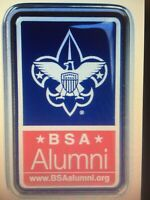 BSA® Alumni Metal Framed Auto Decal Boy Scouts of America Leaders Scoutmasters