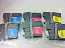 LC61 CMY Ink Cartridge for Brother MFC6490CW 5890CN 5490CN 990CW 790CW 250C 6PK