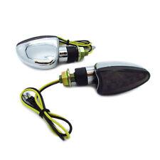 4x 15 LED Turn Signal Dual Sport Motorcycle Dirt Bike Light Blinker MX Mini 12V