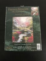 Thomas Kinkade Counted Cross Stitch Kit #51157 Brookside Hideaway New Opened