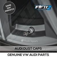 Audi Alloy Wheel Genuine Tyre Dust Caps Valve Stem Caps TT A1 A3 A4 A5 A6 A7 A8