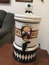 Dept 56 Spooky Sighter - Halloween Beverage Dispenser - In Box