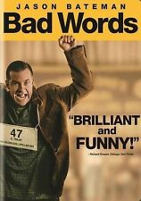 Bad Words (DVD, 2014) VG