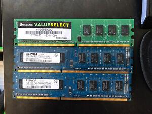 4GB (2 x 1gb DDR3 +  2Gb DDR2) RAM