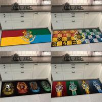 Harry Potter Floor Mat Hufflepuff RavenclawSymbol Rug Bedside Carpet Slytherin
