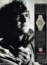 Publicité advertising 1991 La Montre Tag Heuer Serie 4000